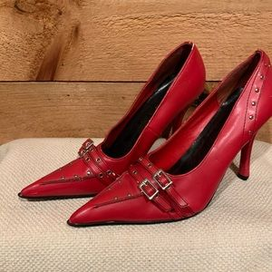 Women's red heels